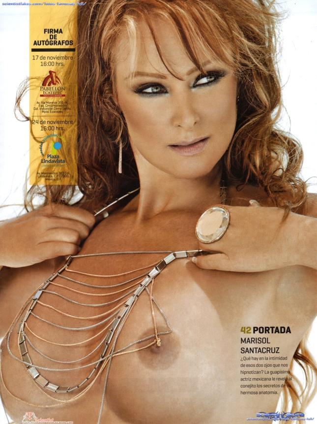 Marisol Santacruz Playboy Noviembre