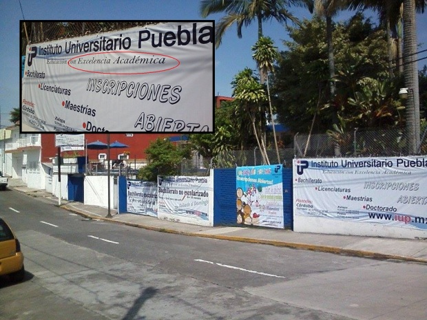 Instituto Universitario Puebla no cumple con los niveles de excelencia ofrecidos a sus egresados