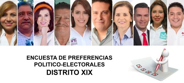 Candidatos a Diputado Local Distrito XIX